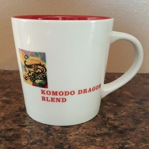Starbucks Komodo dragon blend mug